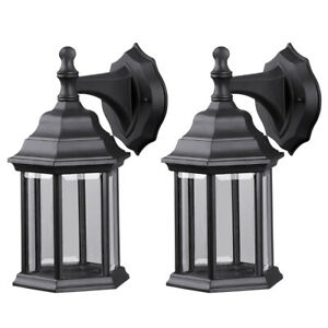 Retro Exterior Lantern Wall Light Lamp