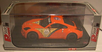 Kinderrennbahnen Special Section Power Slot 86978 Nissan 350z #205 Challenge Italien A.merzario Lted.ed Mb Beautiful In Colour