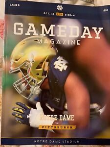 2018-Notre-Dame-vs-Pittsburgh-Game-Program