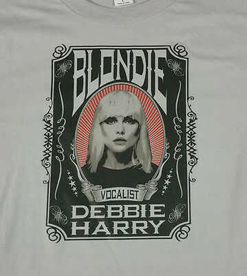 BLONDIE new rock T SHIRT debbie harry all sizes S M L XL new wave
