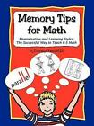Memory Tips for Math Memorization and Learning Styles by Donnalyn Yates