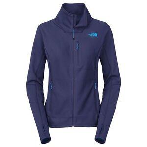 160-New-The-North-Face-Women-039-s-Fuseform-Full-Zip-Jacket-Blue-Medium