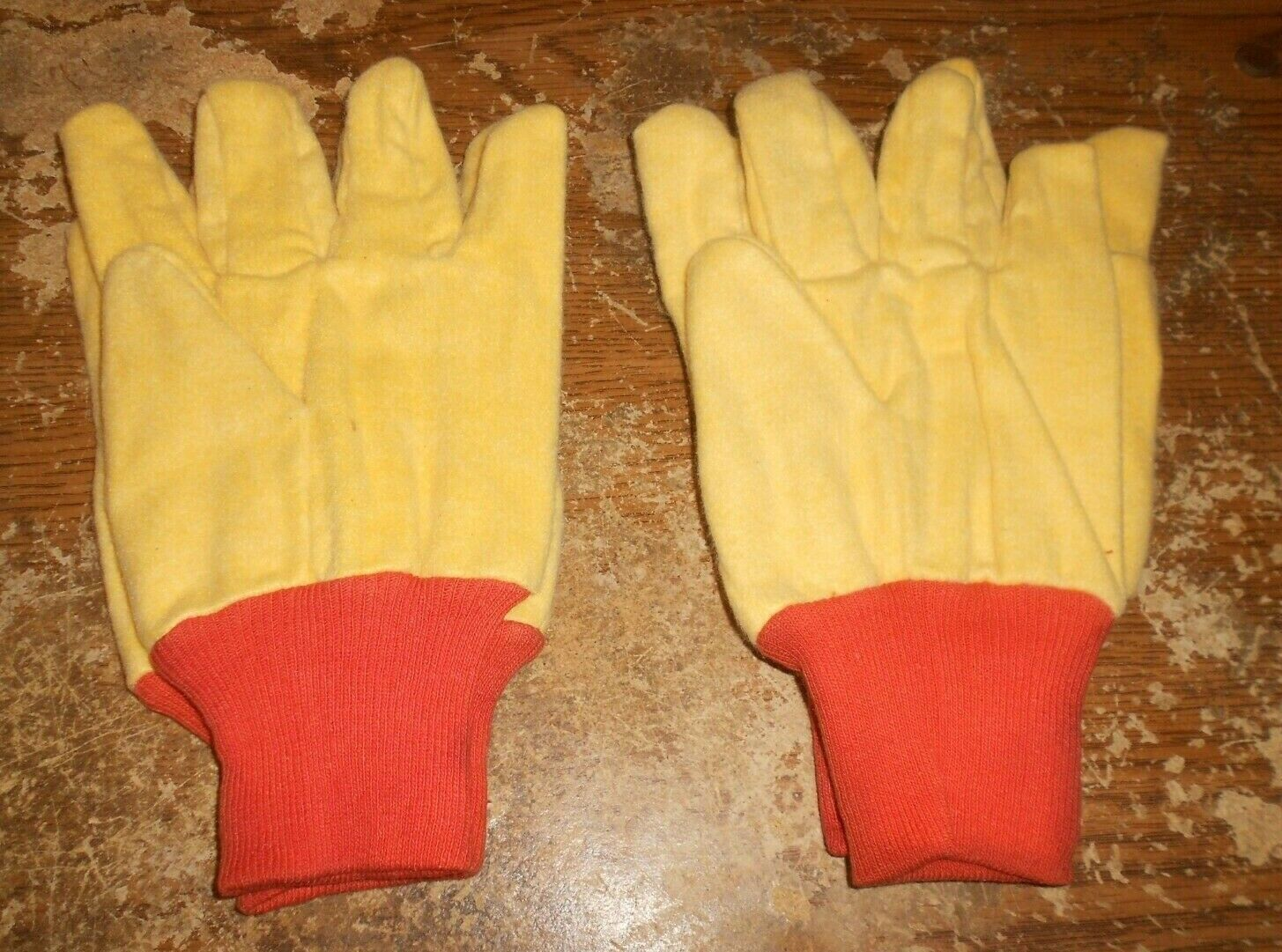 2-pair dickies XL cloth chore gloves in nice shape new