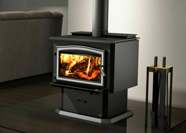 Osburn 3500 Extra Large Wood Burning Stove Efficient Epa Includes Blower For Sale Online