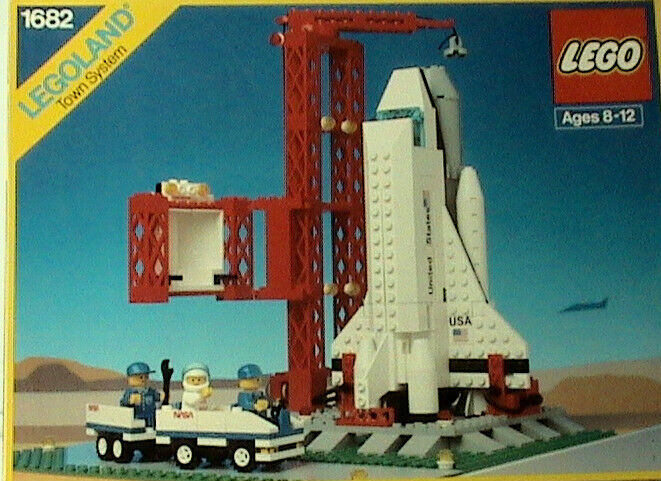 Lego Town Classic Space Shuttle Launch Ebay