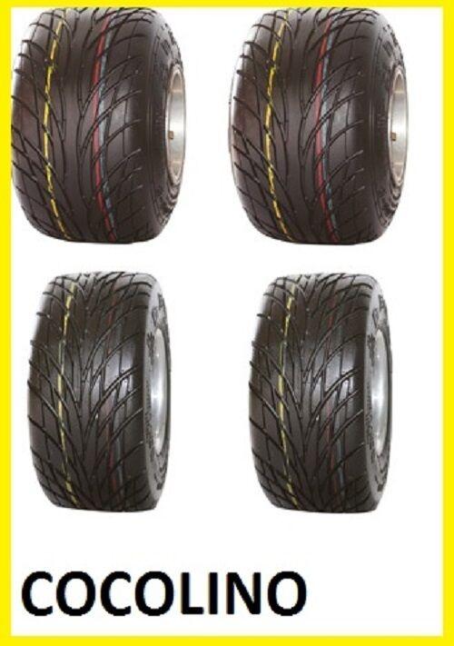 4 Stck   Satz Kart Bierkiste DURO Regenreifen Reifen 4 5 + 6 0 rain tyre