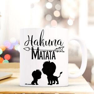 Baby Frank Tasse Becher Löwen Spruch Hakuna Matata Geschenk Kaffeebecher Kaffeetasse Ts677 Ernährung