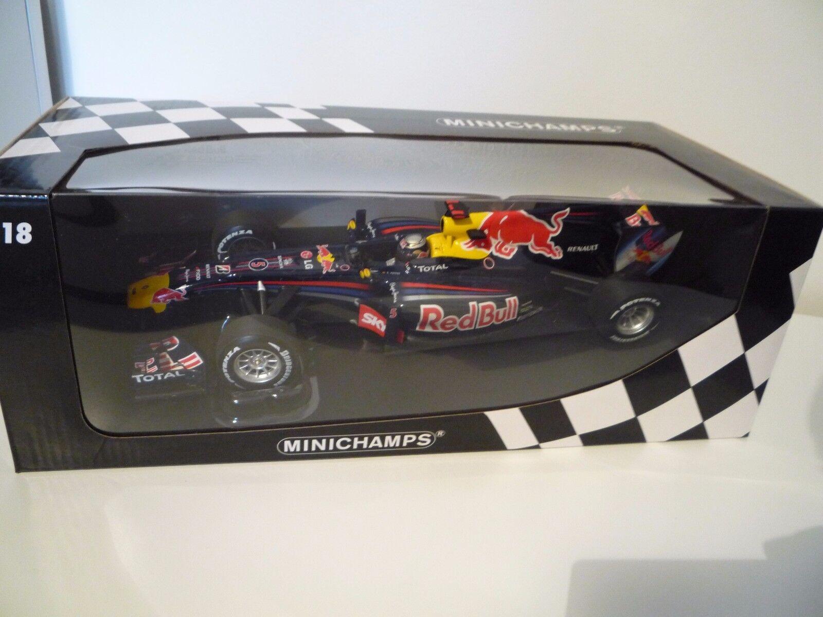 rödBull RB6 Formel 1 Winner GP Br 65533;65533; sil 2010 1 18 Minichamps