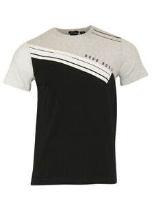 BOSS Hugo Mens Short Sleeve Crew Neck Shirt