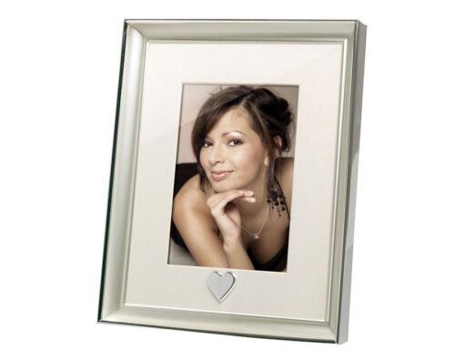 Venlo Porträtrahmen Herz Silber 13x18 Hochzeit Bilderrahmen Fotorahmen Porträt