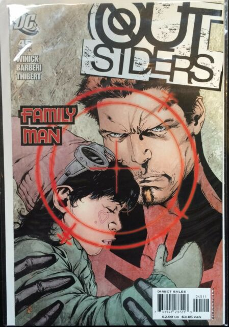 The Outsiders (Vol 3) #45 VF- 1st Print DC Comics