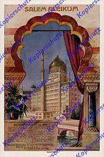 orig Reklame Yenidze Salem Dresden Tabakfabrik Hugo Zietz Industrie Sachsen 1916
