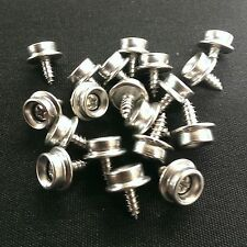 """25 3/8"""" ALL Stainless Steel Screw Snap Studs - Auto- Marine-Truck- Boat- Covers"""