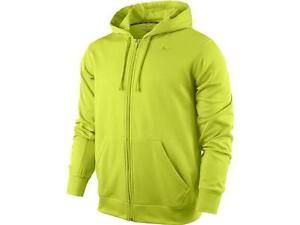 nike zip up jacket mens yellow