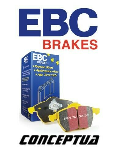 EBC YELLOWSTUFF BRAKE PADS REAR DP41193R FAST STREET, TRACK, RACE