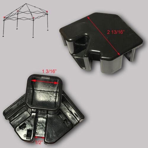 Ozark Trail ABBA 10/' X 10/' Canopy Gazebo  LEG CAP Pole Connector Parts B