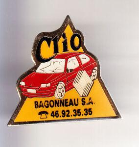 RARE-PINS-PIN-039-S-TOURISME-AUTO-CAR-RENAULT-SAINTES-CHARENTE-MARITIME-17-CJ