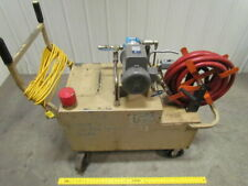 2882 Two Way Fluid Transfer Cart System 53 Gal Tank 34 Hp 1ph Pump Withhose Reel