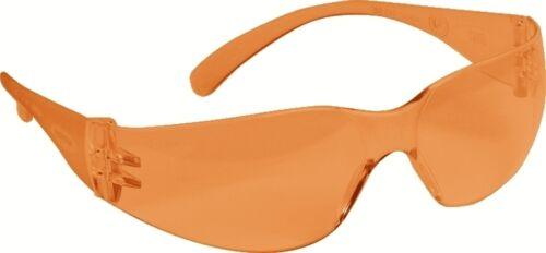 10 Stück PELTOR Virtua Orange kratzfest Schutzbrille geeignet zum Skifahren