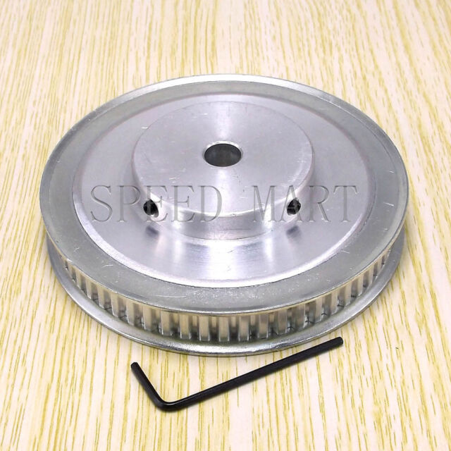 XL Type XL60T Aluminum Timing Belt Pulley 60 Teeth 8mm Bore for Stepper Motor