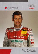 Tom Kristensen - Audi Sport DTM Promo Card