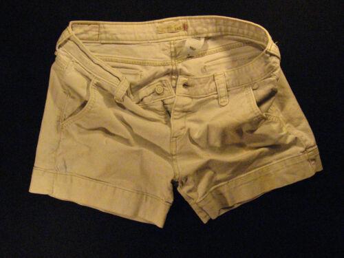 Levis fly bianco W 545 Shorts Cutoff Rise Zipper macchiato Jean 32 Distressed Low rHxnwra