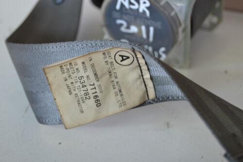 Toyota Prius PS3 Seat Belt Passenger Rear PS3 Hybrid Prius Rear Seat Belt 2011