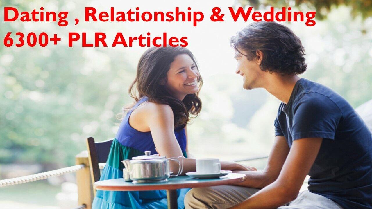 Dating ,Relationship & Wedding  6300+ PLR Articles with Bonus 10 Free Ebooks