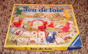 RARE-VINTAGE-JUE-DE-L-039-OIE-BOARD-GAME-FROM-RAVENSBURGER-FRENCH-GAME-COMPLETE