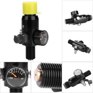5-8-034-18UNF-4500psi-Input-Paintball-Gewinde-Regler-Ventil-Luftbehaelter-Regulator
