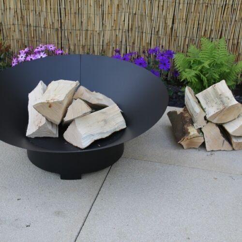 Made O/' Metal Angled Circle Steel Garden Patio Heater FirePit Log Burner Dish