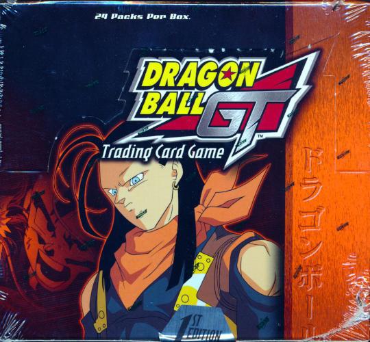 Dragon Ball Z GT Trading Card Game 1st ed Super 17 Saga BOOSTER BOX 24ct SEALED