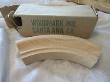 Architectural Unstained Wood Oak Staircase Bend USED Woodmark Santa Anna #7013