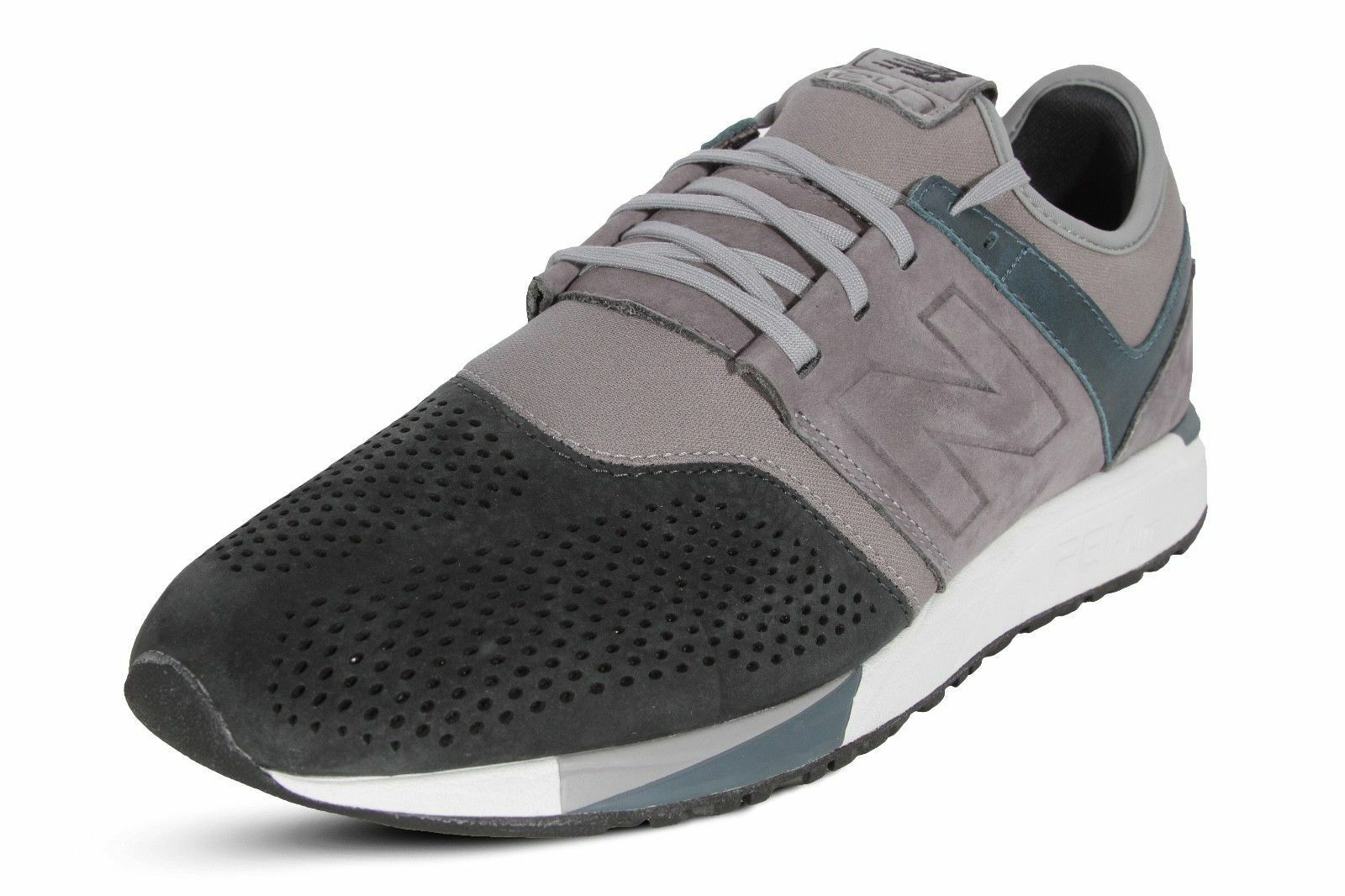 New Balance Men's 247 Classic Casual Sneakers shoes MRL247N4 Grey Navy