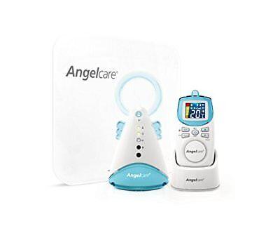 Nuovo Con Scatola Angelcare Ac401 Movimento E Suono Baby Girl's/ragazzi Bianco Bambino Monitor- Volume Grande