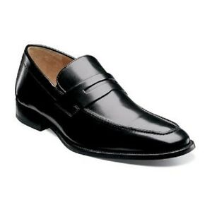 Florsheim-Imperial-Sabato-Penny-Men-Shoes-Black-Leather-Slip-on-12125-001