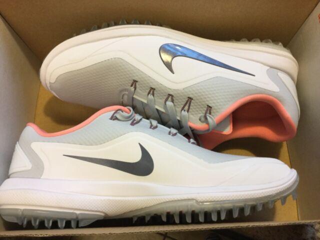 detailed look f15ad f0d21 New Womens Nike Lunar-Control Vapor 2 Golf Shoes cleats 909083-002 Sz 7.5