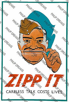 """Vintage Wartime Poster WW2 /""""Lets Catch Him With His Panzers Down/"""" re-print"""