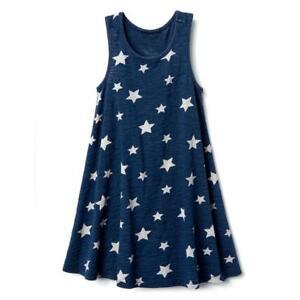 NWT-Gymboree-July-4th-Navy-Blue-star-Dress-girls-4-5-6-7-8-10-12-14
