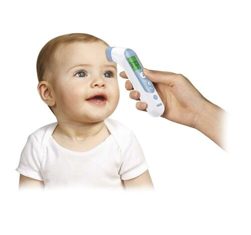 New Vicks Forehead Digital Kids Baby Adult Thermometer Fever InSight Tester Test