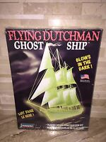 Lindberg Flying Dutchman Ghost Ship Model Kit Glows In The Dark