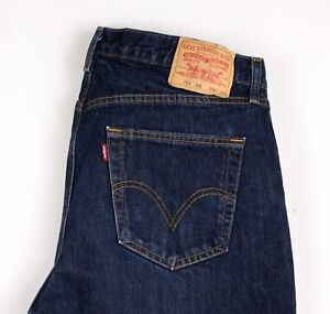Levi's Strauss & Co Hommes 751 02 Slim Jeans Jambe Droite Taille W38 L34 BCZ911