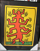 Keith Haring - Growing - Art - Framed - Nice