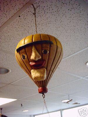 Ballon Heisluftballon Ballonfahrer Dekoration H56cm Nr.10