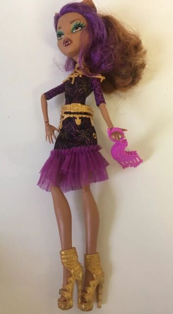 MONSTER HIGH FRIGHTS CAMERA ACTION CLAWDEEN WOLF DOLL