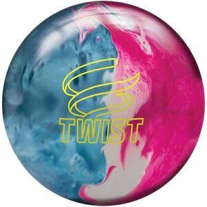 NEW-Brunswick-Twist-Reactive-Bowling-Ball-Blue-Pink-Snow-8-12-LB