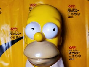 Homer-Simpson-HARD-HEAD-plush-VINTAGE-COLLECTABLES-1990-Authentic-RARE