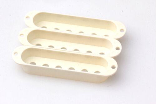 3 Parchment passend für Strat® 52mm Spacing Pickup Cover Set