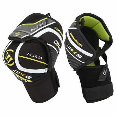 $109 New Warrior Alpha DX Pro Senior Medium Elbow pads guards ice hockey