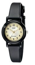 Casio Women's Black Resin Watch, Analog, Water Resistant, LQ139A-9B3